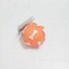 Pelota Caucho huesos con sonido pequeña Naranja